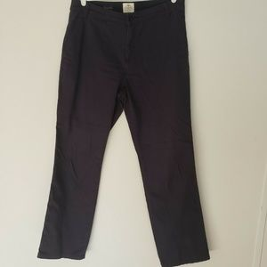 Womens St Johns Bay Pant Size 12 Navy Blue